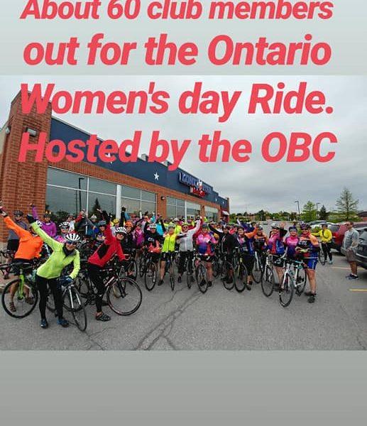 OBC women's bike day 2019